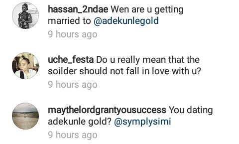 "Lol. Check out ""JAMB questions"" fans asked Simi"