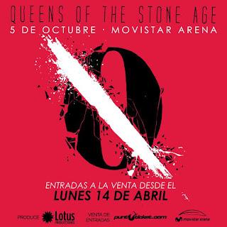 Queens Of The Stone Age - 2014-10-05 Movistar Arena Chile