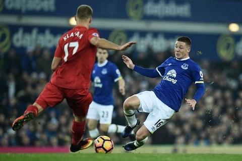 McCarthy - ấn tượng trong màu áo Everton