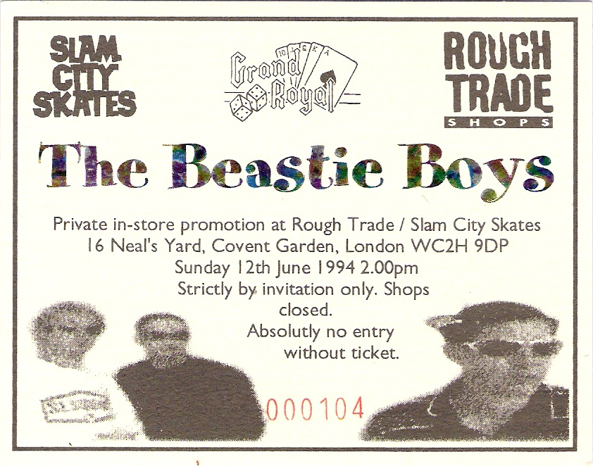 Beastie Boys 1994 Secret Show in London | Musikgeschichte im Bewegtbild