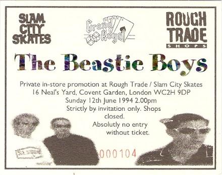 Beastie Boys 1994 Secret Show in London | Musikgeschichte im Bewegtbild