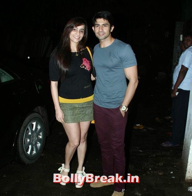 Tina and Hussain Kuwajerwala, Marathi Movie Lai Bhaari Premiere Pics