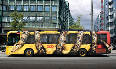 25 Creative and Clever Bus Advertisements - Part: 4 (30) 7