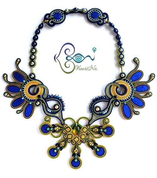 【Peacock】 2015年の作品|ソウタシエ刺繍作家 KaoriNa.