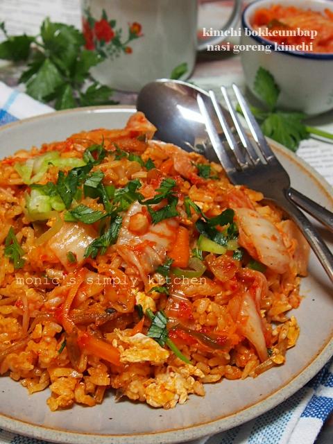 resep nasi goreng kimchi bokkeumbap