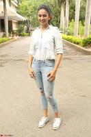 Rakul Preet Singh in Jeans and White Shirt At Jaya Janaki Nayaka le Logo Launch ~  Exclusive 043.JPG