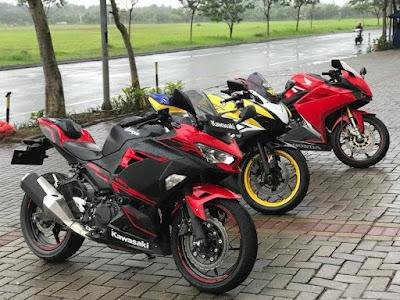 Motor sport fairing 250cc di Indonesia