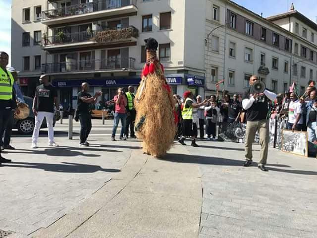 Biafra: IPOB features Ihiala masquerade at Nigeria Civil War exhibition in Spain