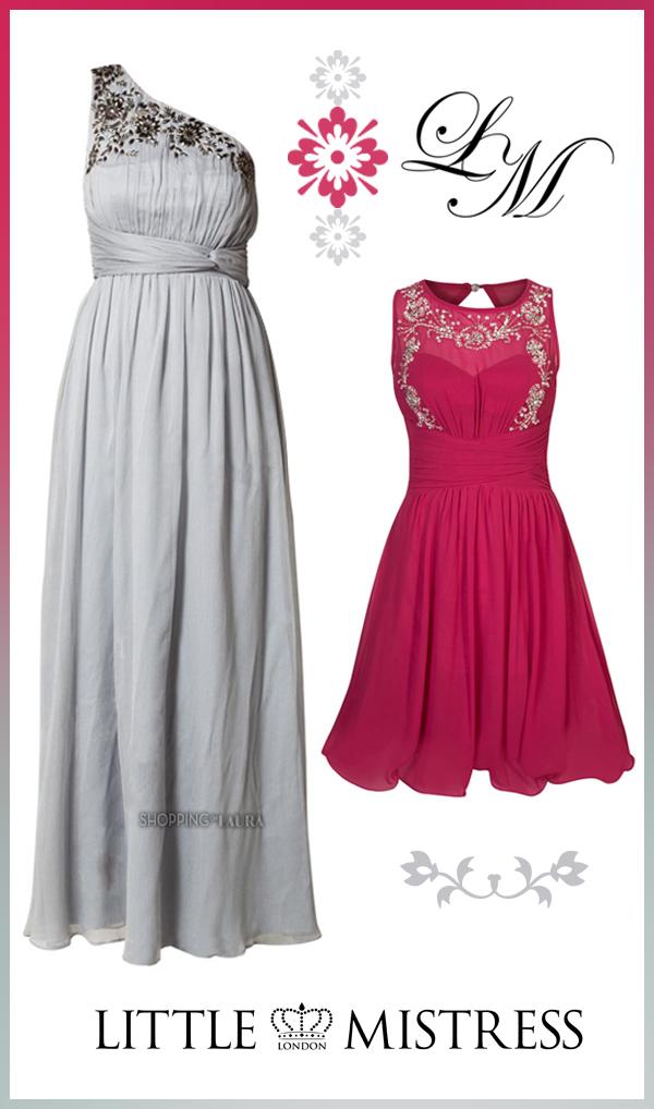 Robes du soir romantiques LITTLE MISTRESS