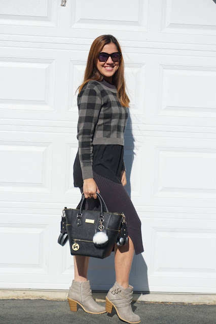 black satchel bag outfits