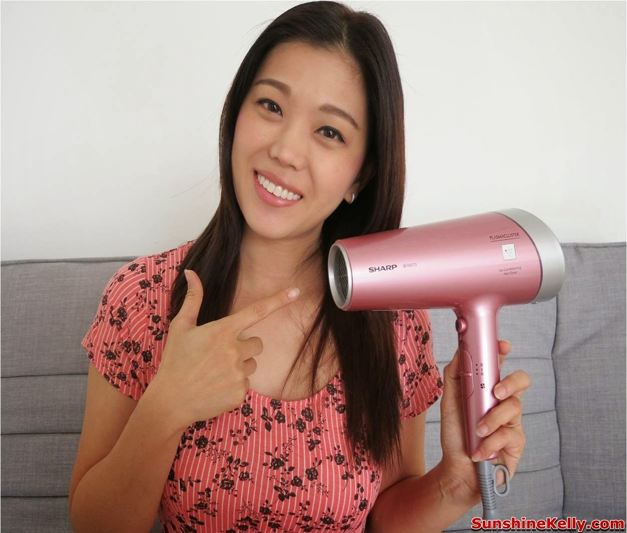 SHARP IB-HD73S Ion Conditioning Hair Dryer, sharp, hair dryer, plasmacluster, ion, styling, hair care, anti static hair dryer