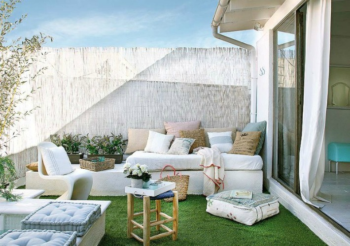 Decoraci n f cil como decorar tu terraza o jard n ideal for Muebles hippies