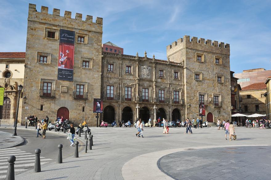 Palacio de Revillagigedo, Gijón