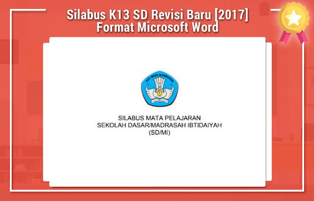 Silabus K13 SD Revisi Baru [2017] Format Microsoft Word