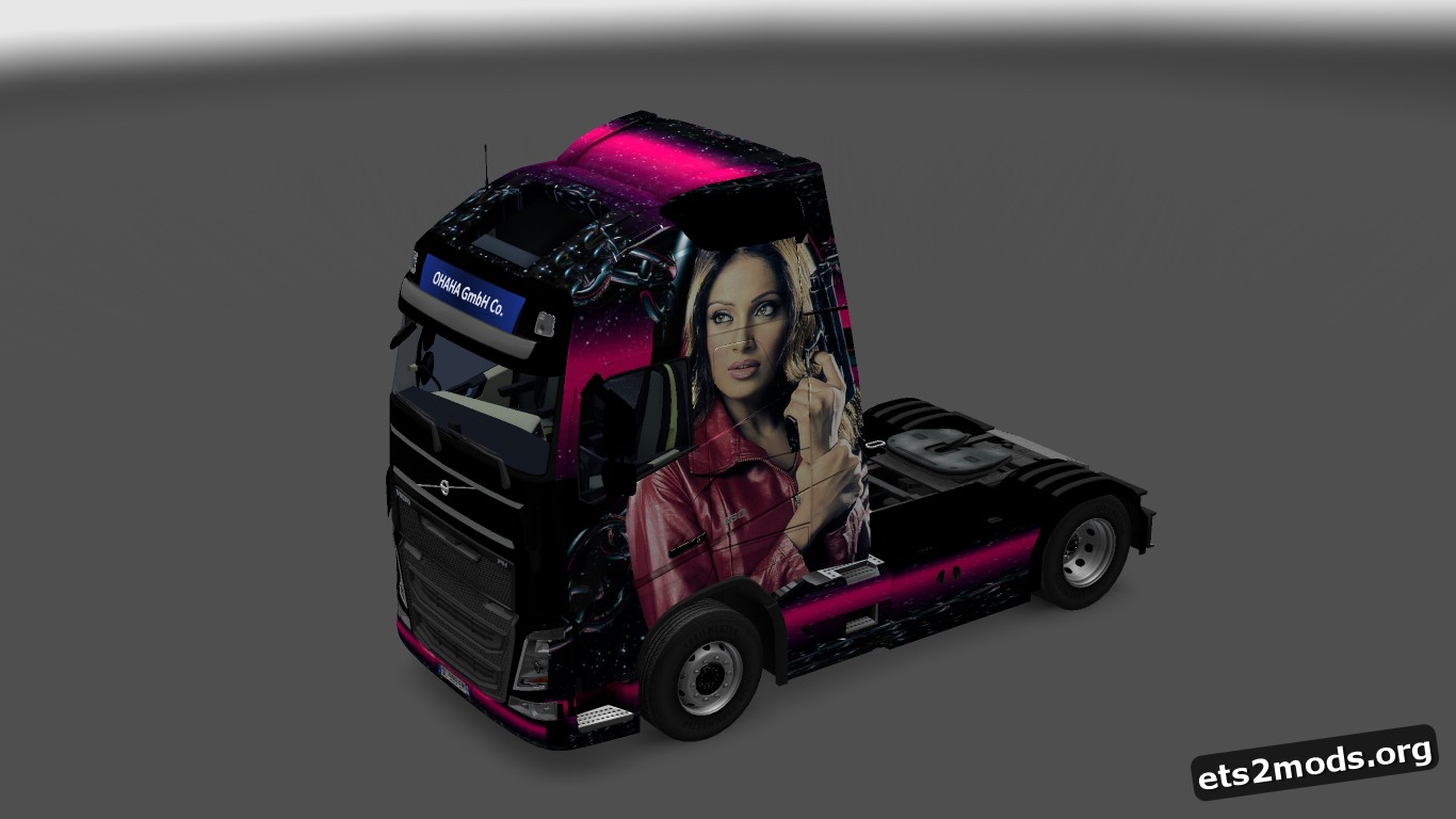 Revenge and Passion Skins for Volvo 2012 & 2013