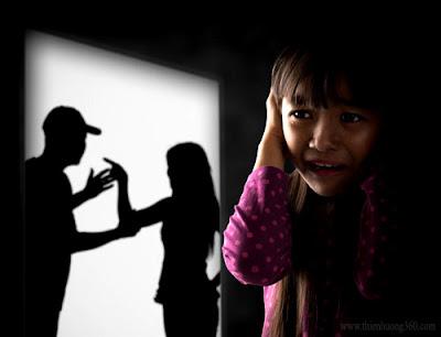 Gia đình không đầm ấm, bố mẹ thường xuyên cãi nhau
