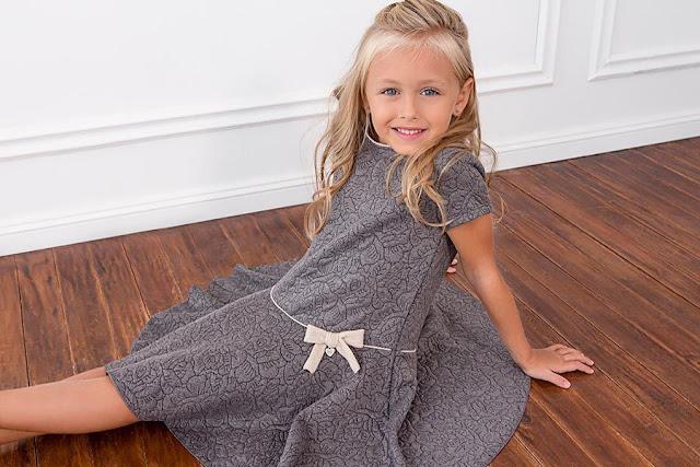 vestidos de moda invierno 2017 niñas