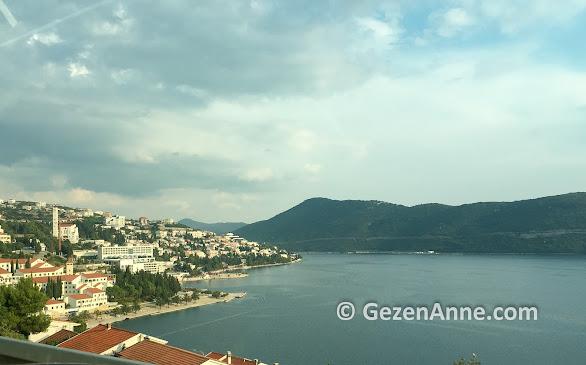 Turistik Neum şehri, Bosna Hersek
