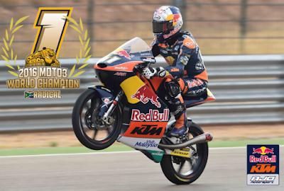 Hasil Lengkap Race Moto3 Aragon, Spanyol 2016