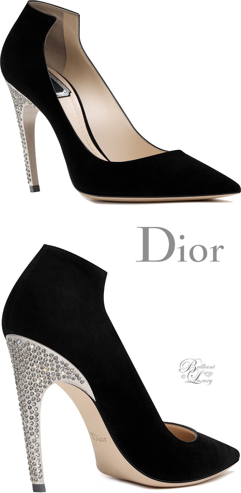 Dior Blue Shoes