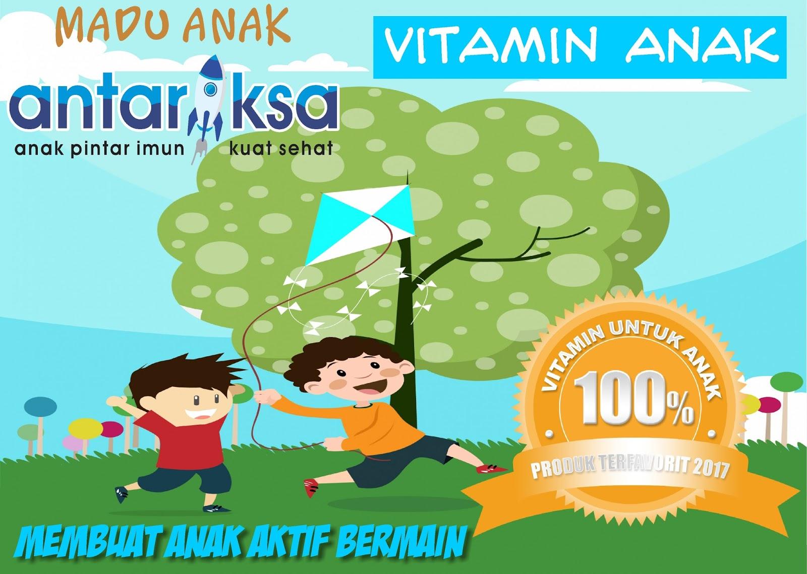 Vitamin Anak Supaya Aktif Bermain