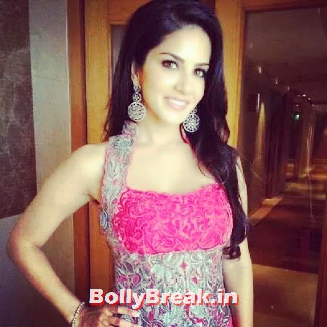 sunny leone, is, sweet,# girl, smile,, Sunny Leone Unseen Latest Real Life Pics