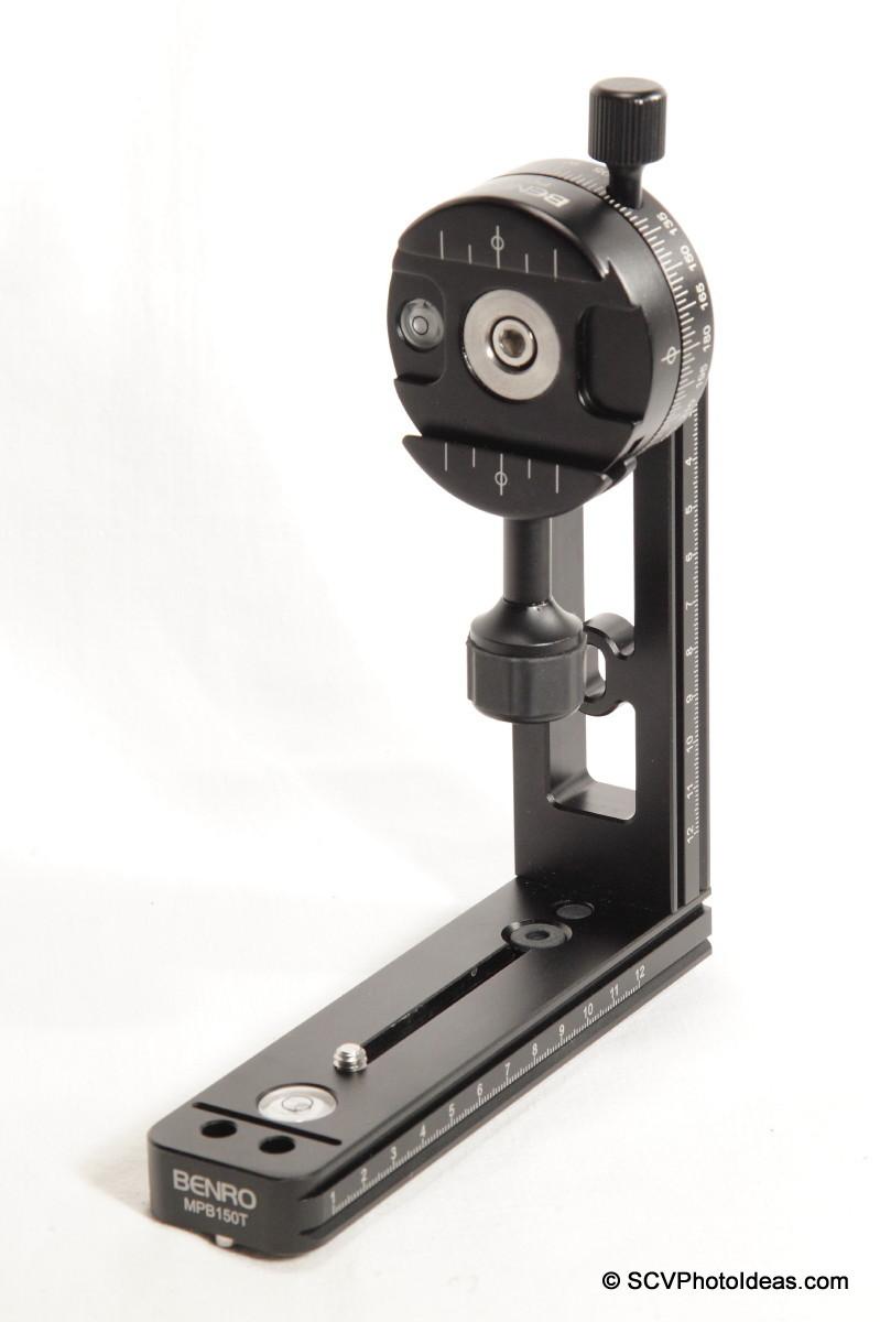 MPB150T L bracket + Benro PC-0 - top set assembly