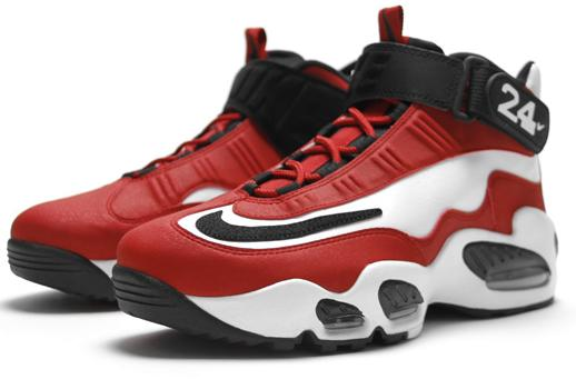 b87fd9cf3e VIN SCULLY IS MY HOMEBOY: Nike Shoes: Air Griffey Max 1 White/Black-Varsity  Red