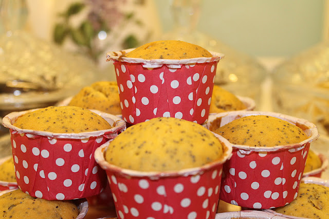Orange Poppy Muffin