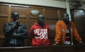 #SexCrime in Kenya: Three Men Sentenced to Death for Stripping, Assaulting Woman and robbery.