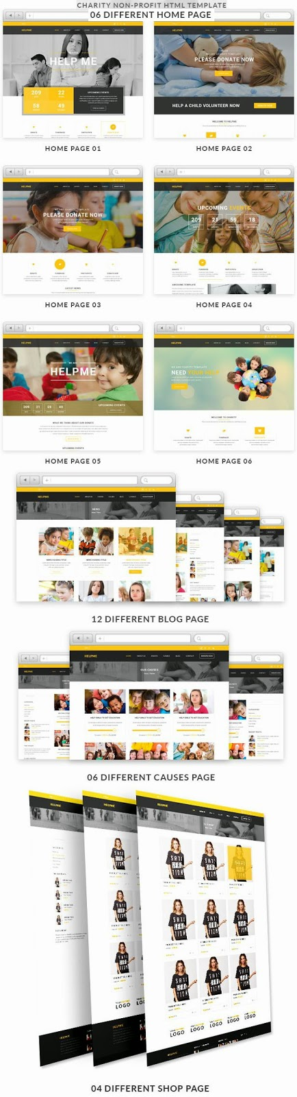Responsive Charity HTML Template 2015