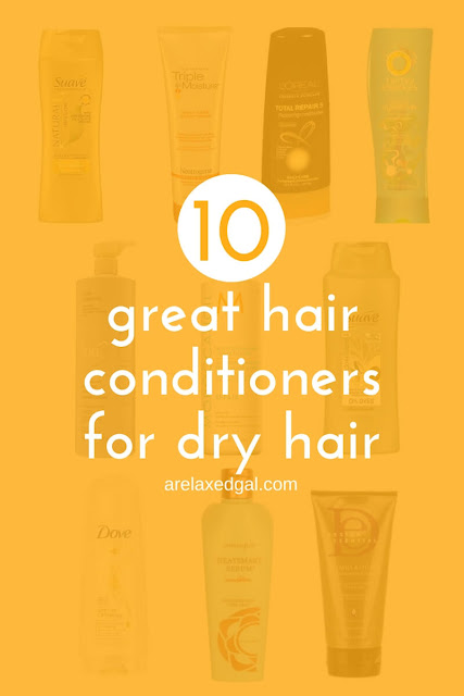 Eliminate dry hair with these 10 hair conditioners. | arelaxedgal.com