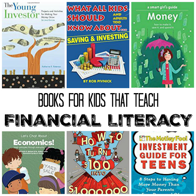 Books to teach financial literacy to tweens and teens