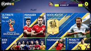 FIFA 14 MOD FIFA 18 Russia 2018 Android Offline 800 MB New Menu