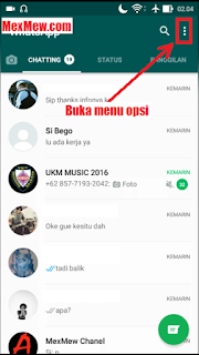 opsi whatsapp,keluar whatsapp web,logout whatsapp web melalui hp,logout whatsap web di android
