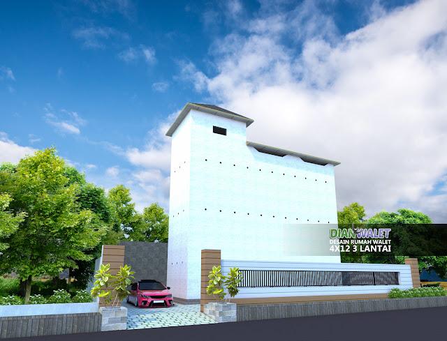 Desain Rumah Walet RBW 4X12 3 Lantai Terbaru