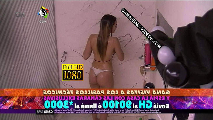 Yasmila Mendeguia hot booty in Big Brother 2016 HD damageinc videos