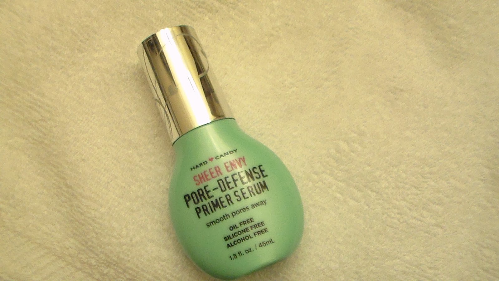 Makeup University Inc Hard Candy Sheer Envy Pore Defense Primer Serum