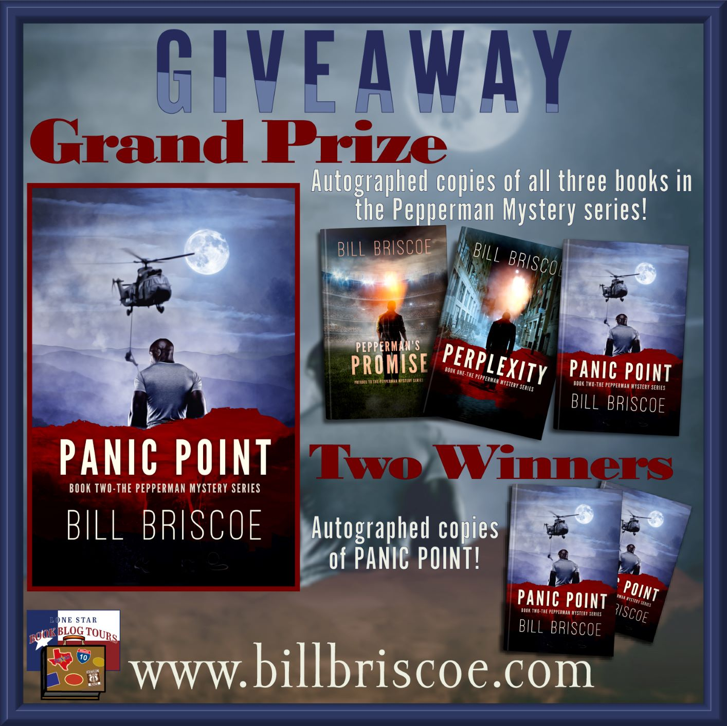 Panic Point giveaway graphic