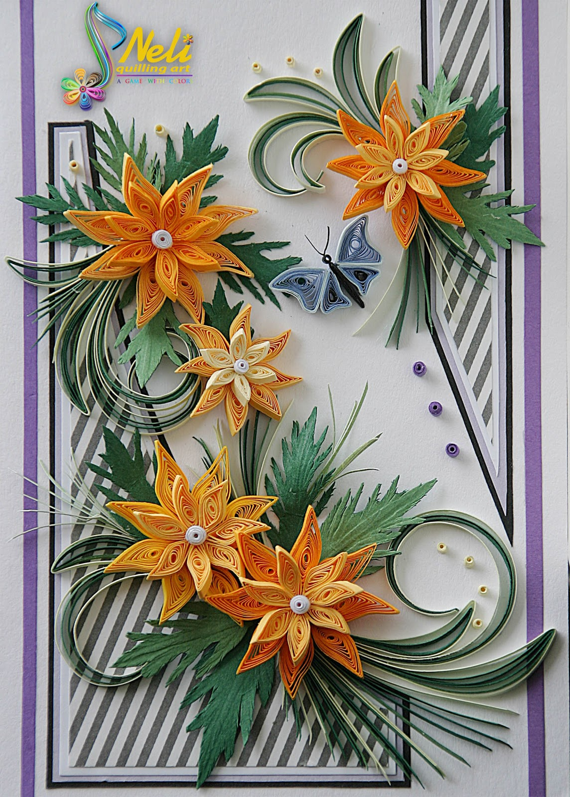 how to make neli quilling