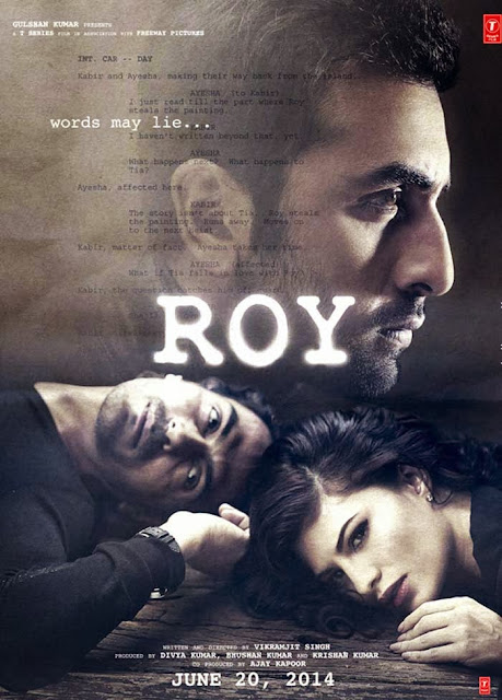 Roy,Upcoming Movie,Ranbir Kapoor, Arjun Rampal,First Look,Movie Poster