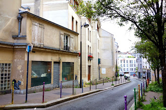 Paris : Les sources de Belleville Part.2 - Rues des Rigoles, de la Mare et de Savies - XXème