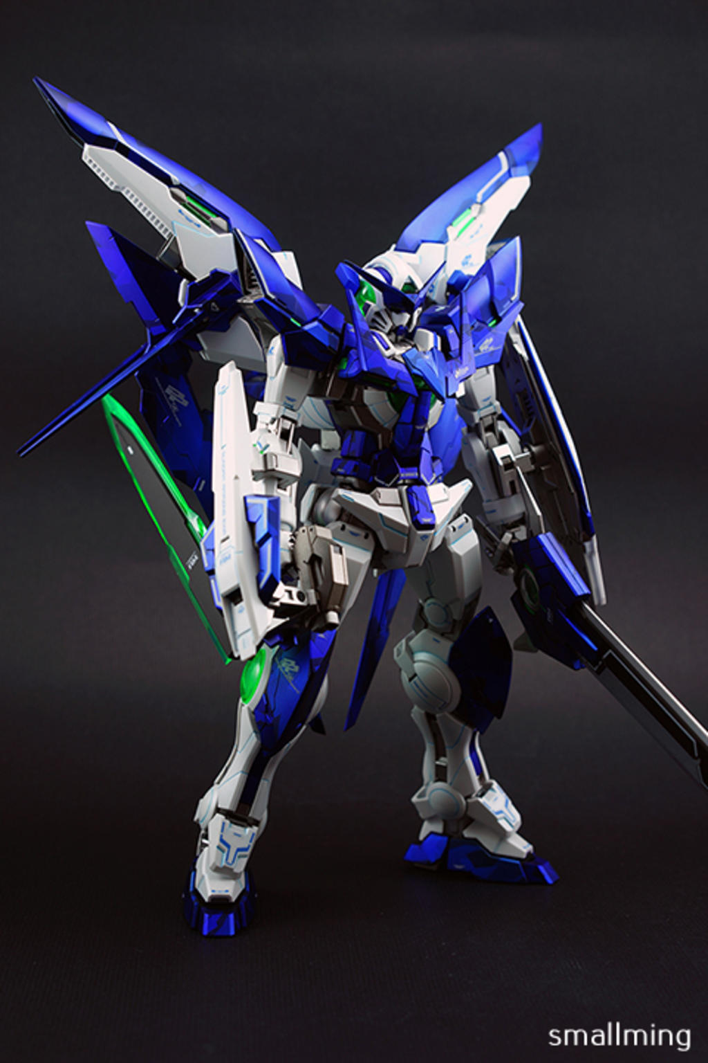 Painted Build: MG 1/100 Gundam Amazing Exia