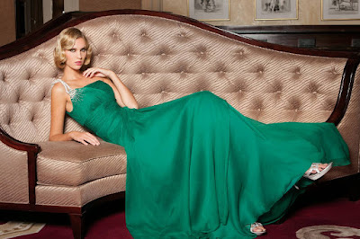 vestido verde largo invitada boda madrina
