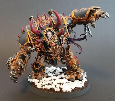 Painting and converting Mortis Metalikus Helbrute for Warhammer 40k Dark Vengeance starter set. Black Legion Heretic Astartes.