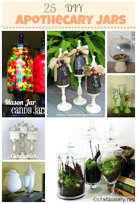 diy great ideas apothecary jar projects