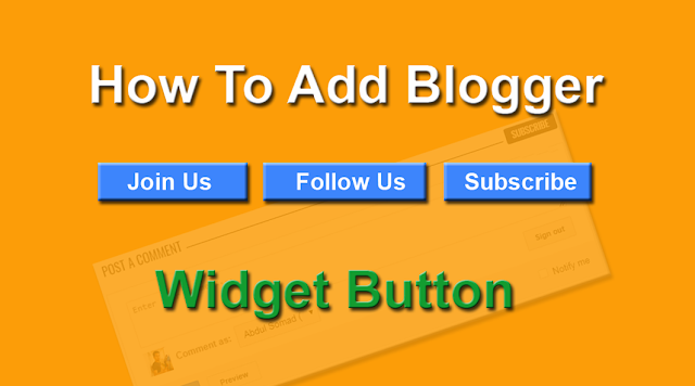 Blogger Follow Button