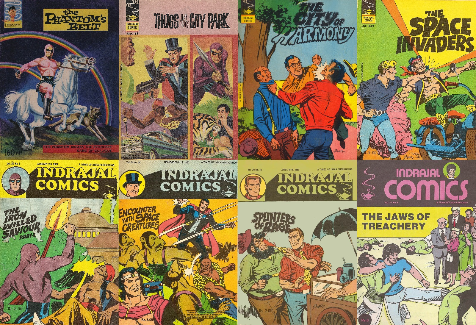 Old Comics world: Indrajal Comics Complete Collection (1964