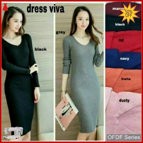 OFDF100 Dress Casual Dress Viva Rajut Modis BMGShop