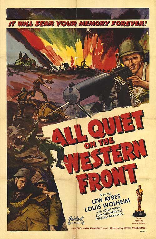 Platz: ALL QUIET ON THE WESTERN FRONT (USA 1930, Regie: Lewis ...
